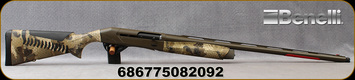 "Benelli - 12Ga/3.5""/28"" - Super Black Eagle - Semi-Auto Shotgun - Gore Optifade Marsh/Patriot Brown Cerakote, 3+1 Capacity, Mfg# 11233"