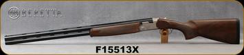 """Beretta - 12Ga/3""""/30"""" - Model 686 Silver Pigeon I - Sporting - O/U - Walnut Stock/Engraved receiver/Blued Barrels, 10x8Rib, Mfg# 3V5621LAAA331, S/N F15513X"""