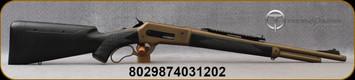 "Taylor's & Co - Pedersoli - 45-70Govt - Model 1886 Boarbuster Mark II - Lever Action - Black Synthetic Stock w/Adjustable Comb/Bronze Cerakote, 19""Threaded PMG broached barrel, Weaver/picatinny base, Mfg# J741.457"
