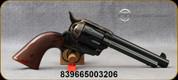 "Taylor's & Co - 45LC - Gambler - Single Action 6-Round Revolver - Checkered Walnut Grips/Case Hardened Frame/Blued Finish, 5.5""Barrel, Mfg# 555130"