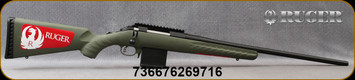 "Ruger - 204Ruger - American Predator - Moss Green Composite Stock/Black Finish, 22""Threaded(1/2""-28)Barrel, Mfg# 26971"