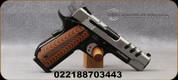 "Smith & Wesson - 45ACP - Model 1911 Custom Performance Center - Single Action Semi-Auto - G10 Custom Grip/Two-Tone Finish, 4.25""Barrel, Mfg# 170344"