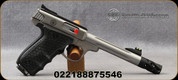 """Smith & Wesson - 22LR - SW22 Victory Target Performance Center - Single Action - Black Polymer Grips/Stainless, 6""""Barrel, 10rd Capacity, Mfg# 12078"""