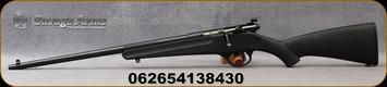 "Savage - 22LR - Rascal - LH - Single Shot Bolt Action Rimfire Rifle - Black Synthetic Stock/Blued Finish, 16.125"" Barrel, Peep Sights, Mfg# 13843"