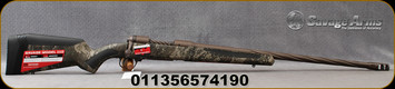 """Savage - 6.5PRC - Model 110 High Country - Bolt Action Rifle - Adjustable Synthetic AccuFit AccuStock TrueTimber Strata Camo/Coyote Brown Finish, 24""""Barrel, 2 Round Detachable Magazine, Mfg# 57419"""