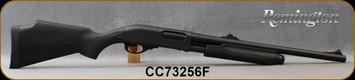 "Used - Remington - 12Ga/3""/20"" - Model 870 Express Deer - Pump Action Shotgun - Black Synthetic Stock/Matte Black Finish, Fully Rifled Barrel, Rifle Sights, 4 Round Capacity, Mfg# 25097 - Very low rounds"