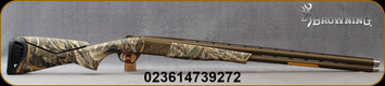 """Browning - 12Ga/3.5""""/30"""" - Cynergy Wicked Wing – Realtree Max-5 - O/U - 2021 Shot Show Special - Realtree Max-5 Composite Stock w/Adjustable Comb/Burnt Bronze Cerakote Finish, Ultra-Low Profile Receiver, (3)extended Invector-Plus Goose Band chokes(F,"""