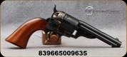"Taylor's & Co - 38Spl - Richards-Mason 1851 Navy - Revolver - Walnut Grips/Case Hardened Frame/Steel Backstrap & Trigger Guard/Blued, 4.75""Barrel, 6 Rounds, Mfg# 0934"