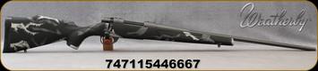 "Weatherby - 6.5Creedmoor - Vanguard Prophet River Exclusive - Bolt Action Rifle - Black w/Grey K10 Pattern Synthetic Stock/Graphite Cerakote Bolt/Tungsten Cerakote Finish, 24""Threaded(1/2x28), Fluted #2Contour Barrel, Mfg# VA7965CMR4T"