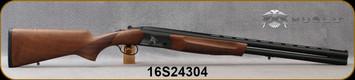 "Huglu - 12Ga/3""/26"" - Eagle G - Turkish Walnut/Black Laser-Engraved Aluminum Alloy Receiver/Chrome-Lined Barrels, 5pc. mobile choke, SKU# 8681715390734, S/N 16S24304 - Scuffs in rear of buttstock"