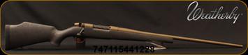 "Weatherby - 7mmRMg - Mark V Weathermark - Black w/Burnt Bronze web Synthetic Stock/Burnt Bronze Cerakote, 26""#2 Contour, Threaded Barrel, Mfg# MWB01N7MMWR6T"