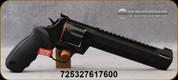 "Taurus - 357Mag - Raging Hunter - DA/SA Revolver - Rubber Grips/Matte Black Finish, 8.375""Ported Barrel, 7 Rounds, Adjustable Rear Sight, Picatinny Top Rail, Mfg# 2-357081RH"