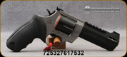 "Taurus - 44Mag - Raging Hunter - DA/SA Revolver - Rubber Grip/Two Tone Stainless/Black, 5.125""Ported Barrel, 6 Rounds, Adjustable Rear Sight, Picatinny Top Rail, Mfg# 2-440055RH"