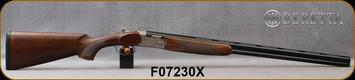 "Beretta - 28Ga/2.75""/28"" - Model 686 Silver Pigeon I - O/U - Oil-Finished Walnut Stock/scroll-engraved receiver/Cold Hammer Forged Barrels, 5pc. Mobilchoke, Mfg# 3W47P3L2AA311, S/N F07230X"
