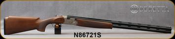 "Beretta - 12Ga/3""/30"" - Model 686 Silver Pigeon I Sporting Vittoria - Walnut Stock w/Schnabel forend/Engraved Nickle Finish Receiver/Steelium Optima HP Barrels, Vent Rib, Mfg# 3V562L2AAA331, S/N N86721S"