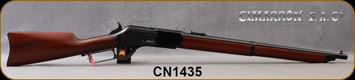 "Cimarron - 45-75Govt - NWMP Centennial Carbine - Lever Action Rifle - Walnut Stock/Forend/Case Hardened Hammer, Lever & Trigger/Standard Blued Frame, 22"" Round Barrel, Mfg# CA2521AS6, S/N CN1435"