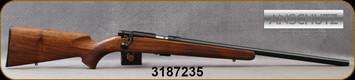 "Anschutz - 22LR - 1710 HB Walnut Classic - Oiled Walnut Straight-Comb Classic Stock/Blued, 23""Heavy Barrel, 5109 two-stage trigger, Mfg# 013297, S/N 3187235"