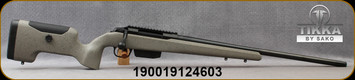 "Tikka - 6.5PRC - T3x (UPR)Ultimate Precision Rifle - Bolt Action Rifle - Carbon fiber/Fibreglass Composite stock/Blued Steel CR-MO Alloy, 24""Threaded(5/8x24) Barrel, Adjustable Trigger, Mfg# TF1T9639A5949R0"