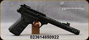 "Browning - 22LR - Buck Mark Plus Vision/Round Suppressor Ready - Semi-Auto Pistol - Black on black UFX grips/Matte Black Finish, 5.9""Steel Barrel w/tensioned outer aluminum sleeve, Picatinny optics rail, Removable Muzzle Brake, Mfg# 051574490"