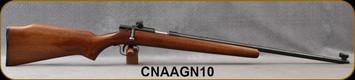 "Consign - North America Arms - 22LR - Grizzly No.10 - Walnut Stock/Blued, 22""Barrel, Lyman Sights"