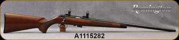 "Consign - Remington - 22S/L/LR - Model 541-T - Walnut Stock/Blued, 24""Heavy Barrel, c/w 1""rings ),(1)short magazine, (3) spare magazines"