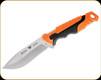 "Buck Knives - Pursuit Pro Large Knife - 4 1/2"" Blade - S35VN Steel Drop Point - Orange/Black Glass Filled Nylon/Versaflex Handle w/Sheath - 0656ORS-B"