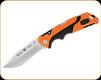 "Buck Knives - Pursuit Pro Large Folding Knife - 3 5/8"" Blade - S35VN Steel Drop Point - Orange/Black Glass Filled Nylon/Versaflex Handle - 0659ORS-B"
