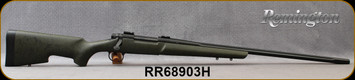 """Consign - Remington - 300WM - Model 700 XCR Tactical - OD Green w/Black Web Bell & Carlson Tactical Stock/Black TriNyte PVD coated 416 stainless steel barreled action, 26""""Fluted Heavy Barrel, 1:10""""Twist, 3rd hinged floorplate, Mfg# 84462 - Only 10rds"""