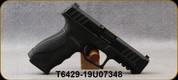 "Stoeger - 9mm - STR-9 Package - Striker-Fire Semi-Auto - Black Finish, (3)interchangeable backstraps, 4.17""Barrel, (3)10 round double-stack magazines, Speed-Loader - Mfg# M900SS006-CND - Open Box Item, S/N T6429-19U07348"