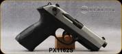 "Beretta - 9mm - PX4 Storm Inox - Double/Single-Action Semi Auto - Black Frame/Matte Stainless Slide, 4.17""Barrel, (1)Interchangeable Backstrap, (1)10rd magazine, Mfg# JXF9F50C - Open Box Item, S/N PX1162S"