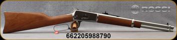 """Rossi - 44Mag - Model R92 Carbine - Lever Action Rifle - Hardwood Stock/Stainless Finish, 16""""Barrel, 8 Round Tubular Magazine, Mfg# 920441693"""