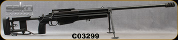 "Consign - Sako - 338Lapua - Model TRG42 - Black Synthetic Sako Folding, Adjustable Stock/Blued, 27""Threaded Barrel, muzzle brake, Detachable 5 round magazine, Bipod - Less than 350 rounds fired"
