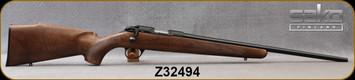 "Sako - 22LR - Finnfire II - Rimfire Bolt Action Rifle - Oil Finish Walnut Monte Carlo Style Stock/Blued, 22""Cold Hammer Forged Light Hunting Contour Barrel, 4rds, No Sight, 2-4lb Adjustable TriggerMfg# S1B051610, S/N Z32494"