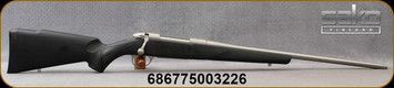 """Sako - 270Win - Model 85 Synthetic Stainless - Black Synthetic Stock w/Soft-Touch Surfaces/Stainless, 22.4""""Barrel, 5rd capacity, Mfg# SBW21LL1A/JRS1B18"""
