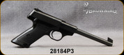 """Consign - Browning - 22LR - Nomad - Black Checkered Grips/Blued, 6.5""""Barrel, Made in Belgium"""
