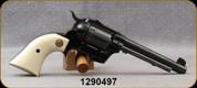 """Consign - Hi-Standard - 22LR - Double-Nine - Double Action 9-Shot Revolver - Polymer Ivory Grips/Blued, 5.5""""Barrel"""