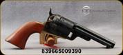 "Taylor's & Co - 38Spl - C. Mason Revolver 1851 Navy - Conversion Revolver - Walnut Navy-Size Grips/Case hardened forged steel frame/Engraved Cylinder/Brass backstrap & Triggerguard/Blued, 4.75""Octagonal Barrel, Mfg# 0924"
