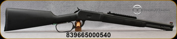 """Taylor's & Co - Chiappa - 44Mag - Model 1892 Alaskan Takedown Black - Lever Action Rifle - Wood stock w/Black overmolded Soft-Touch rubber /Matte Black, 16"""" Barrel, 7 Rounds, Mfg# 920.384"""