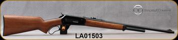 "Taylor's & Co - Pedersoli - 45-70Govt - 86/71 Classic Wildbuster - Lever Action - Walnut pistol grip stock/Blued, 24""Round Barrel, Mfg# S743.457, S/N LA01503"