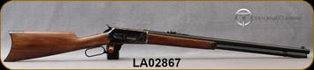 "Taylor's & Co - Pedersoli - 45-70Govt - 1886 Sporting Classic - Lever Action - American Walnut English-grip stock/Blued, 26""Round Barrel, Mfg# S739.457, S/N LA02867"