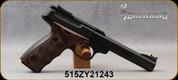 "Used - Browning - 22LR - Buck Mark Plus UDX - Brown Laminate Grips w/Finger-Grooves/Matte Black, 5.5""Slab-Side Barrel, Truglo FO front sight, (2)Magazines - Mfg# 051428490 - Low rounds - In original case"