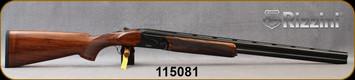 "Rizzini - 16Ga/2.75""/28"" - BR110 - Boxlock O/U Break Action Shotgun - Upgraded Turkish Walnut/Black Cerakote Finish, Vent-Rib Barrels, automatic ejectors, single-selective trigger, S/N 115081"