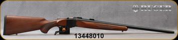 """Ruger - 243Win - 1-V - Varminter - American Walnut Stock/Satin Blued, 26""""Heavy Barrel, 1:7.7"""" Twist, MFG# 21300, S/N 13448010"""