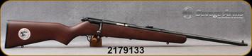 "Consign - Savage - 22LR - Rascal - Single-Shot Rimfire Rifle - Walnut Stock/Blued, 19""barrel"