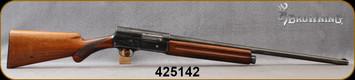 "Consign - Browning - 12Ga/2.75""/25"" - Auto 5 Light Twelve - Semi-Auto Shotgun - Walnut Prince of Wales Stock/Blued Finish"