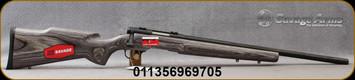 "Savage - 17WSM - B.Mag HB - Bolt Action Rifle - Laminate Stock Black/Blued, 22"" Heavy Barrel, Adjustable Trigger, 8 Round Detachable Magazine, Mfg# 96970"