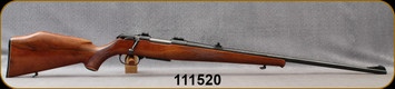 """Consign - Krico - 222Rem - Deluxe Sporter - Bolt Action Rifle - Deluxe Walnut Stock w/Schnabel Forend/Blued, 25.5""""Barrel, Express Sights, detachable magazine - Only 70 rounds fired"""
