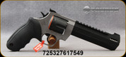 "Taurus - 44Mag - Raging Hunter - DA/SA 6 Round Revolver - Rubber Grip/Two Tone Stainless/Black, 6.75""Ported Barrel, Adjustable Rear Sight, Picatinny Top Rail, Mfg# 2-440065RH"