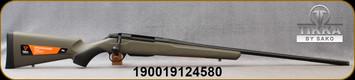 "Tikka - 7mmRM - T3x Superlite Western Exclusive - Bolt Action Rifle - OD Green Synthetic Stock/Black Cerakote Finish, 24.3""Fluted, Threaded(15x1) Barrel, Muzzle Brake, Thread Protector, 3 round magazine, muzzle brake, Mfg# T00000850"