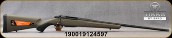 "Tikka - 30-06Sprg - T3x Superlite Western Exclusive - Bolt Action Rifle - OD Green Synthetic Stock/Black Cerakote Finish, 22.4""Fluted, Threaded(14x1) Barrel, Muzzle Brake, Thread Protector, 3 round magazine, muzzle brake, Mfg# T00000852"